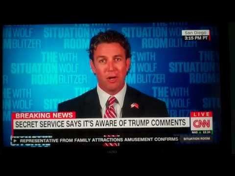 Duncan Hunter denies Trump hinted of assassination