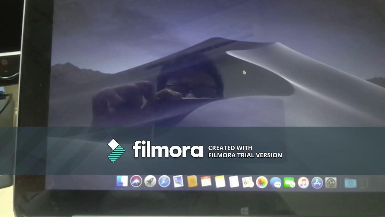 OS Mojave Beta running on Hp Elite X2 1011