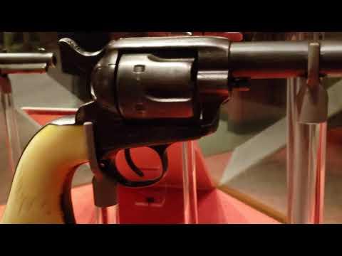 John Wesley Hardin's pistols 荒野大嫖客