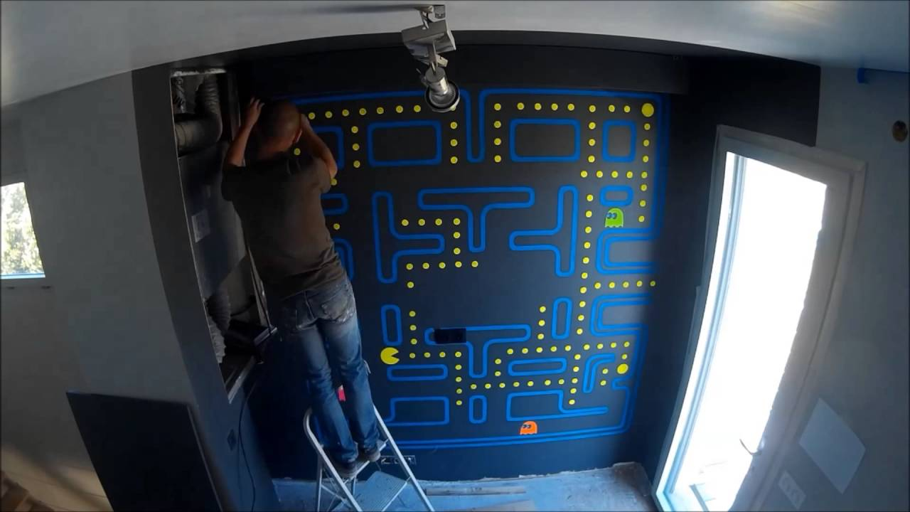 Level 1 The Retro Game Room Making Time Lapse Youtube