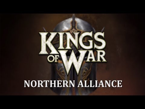 Kings Of War 3rd Edition Northern Alliance Preview!