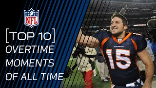 Top 10 Overtime Moments of All Time | NFL