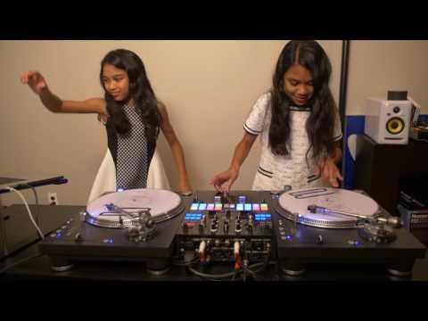 Amira & Kayla Practicing to J Balvin & Willy William Mi Gente