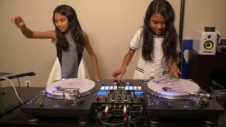 """Amira & Kayla Practicing to J Balvin & Willy William """"Mi Gente"""""""