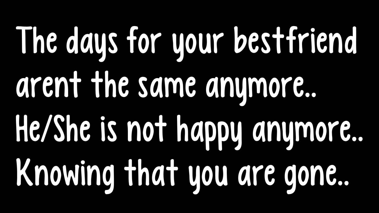 "Quotes About Lost Friendships Bestfriends"" A Sad Short Story That Will Make You Cry Youtube"