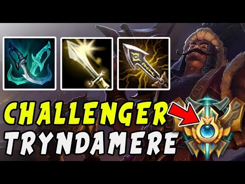 THIS PERFECT BUILD MAKES TRYNDAMERE BUSTED! | THE JAYSEA BUILD Ver.2  (Tiamat Variant)