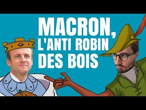 APL, ISF : Macron, l'anti Robin des Bois - Le Bon Sens