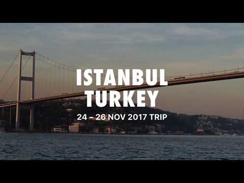 A trip to Istanbul, Turkey!