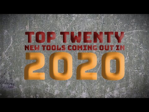 World of Concrete: Top 20 New Tools Coming out in 2020