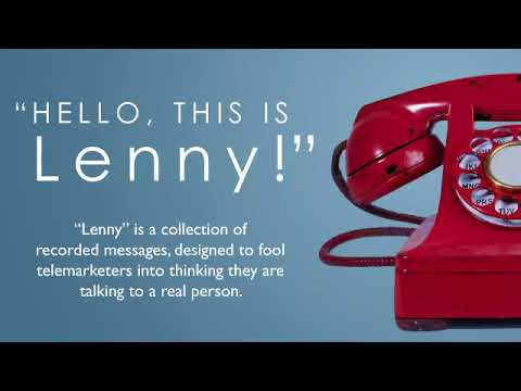 I think this is the first time a telemarketer has tried to sell Lenny rare coins