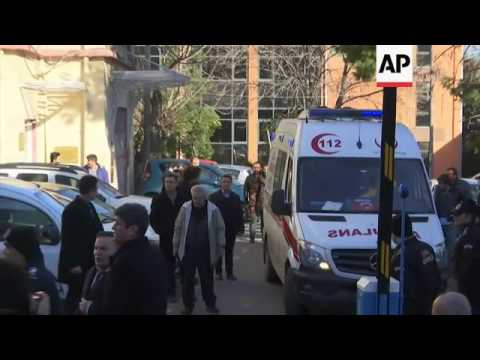 Panic at Turkey hospital over siege fears