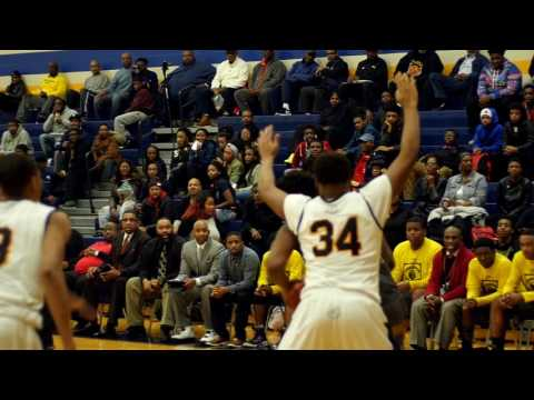 Main Event - Detroit King at East English Village - 2017 Boys Basketball Highlights on STATE CHAMPS!