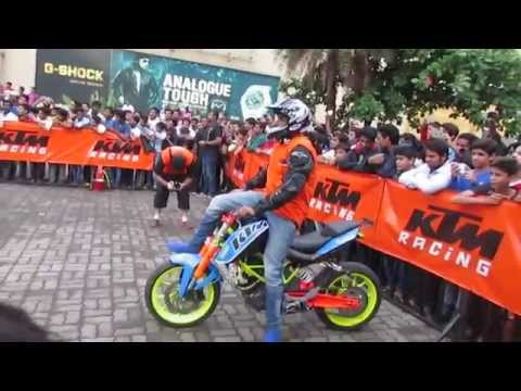 Ktm Stunt Show Kalyan 2015