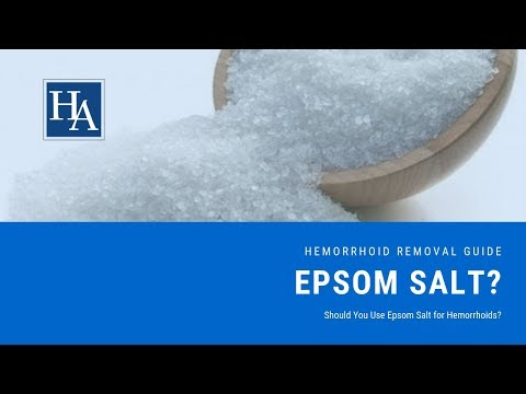 Should You Use Epsom Salt For Hemorrhoids? Does Epsom Salt Really Work?