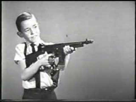 Mattel Tommy Burst TV commercial 1960s!