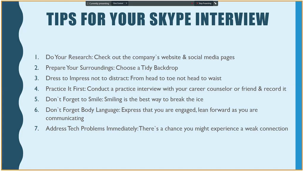 tips to nail a skype interview tips to nail a skype interview