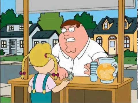 Family Guy Lemonade Stand Paper Trail