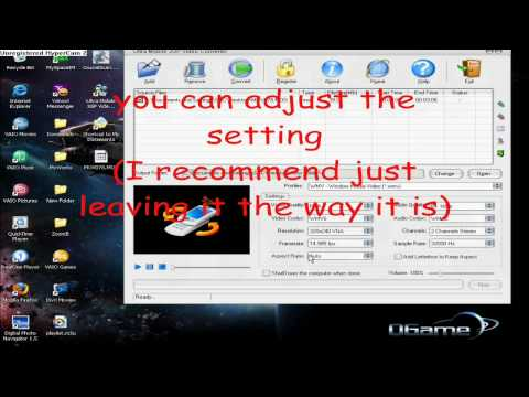 How To Convert.MOD Files Using Ultra Mobile 3GP Video Converter