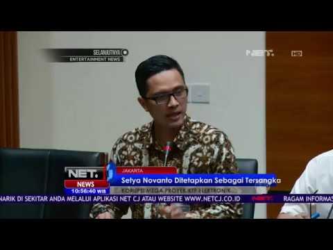 Setya Novanto Ditetapkan Sebagai Tersangka - NET10