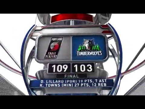 Portland Trail Blazers vs Minnesota Timberwolves - December 5, 2014