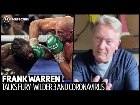 Frank Warren Gives Fury-Wilder 3 Update, Glove Conspiracy, Coronavirus And Next Few Months In Boxing