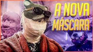 A NOVA MASCARA DO RATO BORRACHUDO 🐭 thumbnail