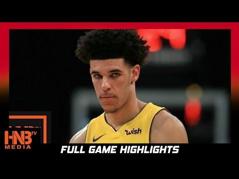 Toronto Raptors vs Los Angeles Lakers 1st Half Highlights / Week 2 / 2017 NBA Season