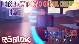 MAINE THE ONE-EYED GHOUL | ROBLOX : Tokyo Ghoul Online Ep.1 | iBeMaine