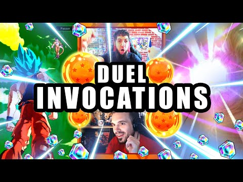 Duel INVOCATION DRAGON BALL LEGENDS vs FITZADRI pour VEGETTO BLUE LF