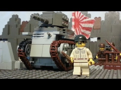 LEGO Second Sino Japanese War Battle of Shanghai : At all cost