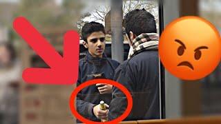 SOCIAL EXPERIMENT | WÜRDEST DU EIN 12 JÄHRIGEN EINE BIERFLASCHE ÖFFNEN?! 😰| DER PERSER