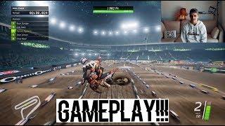Monster Energy Supercross - GAMEPLAY FR