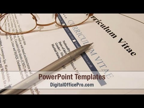 Job resume powerpoint template backgrounds digitalofficepro job resume powerpoint template backgrounds digitalofficepro 04954w toneelgroepblik Gallery