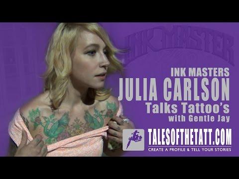 Ink Master Rivals Julia Carlson tells Gentle Jay a...