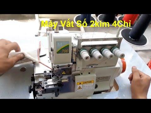 Máy Vắt Sổ 2 Kim 4 Chỉ  Pegasus M-700 Liền Trục Chất Lượng Giá Rẻ | Máy May Chí Hải.