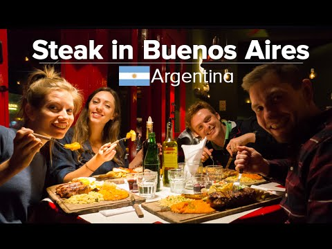 The Best Steaks in Buenos Aires, Argentina (feat. Samuel & Audrey)