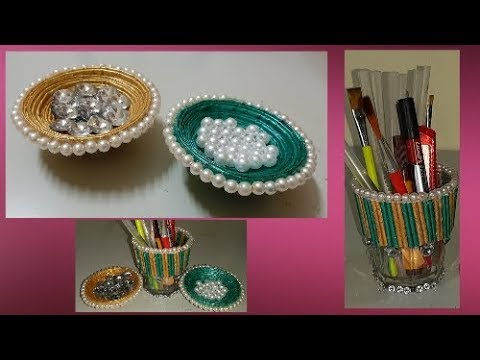 DIY Paper Bowl - How To Make Bowl From Newspaper - DIY Paper Crafts - Wow DIY Crafts Inspirations😍