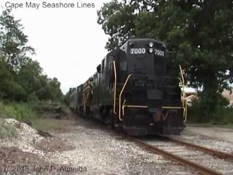 Thomas the Tank Engine and Friends on Cape May Seashore Lines August 10 2005