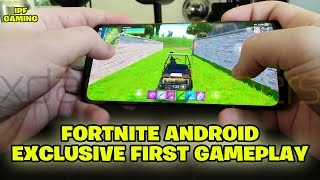 Fortnite Android Exclusive First Leaked Gameplay (Samsung S9). Fortnite Gameplay par IPF Gaming9