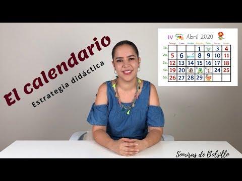 Uso Del Calendario- Estrategia Didáctica