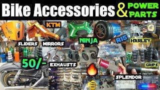 Bike Accessories & Power Parts   KTM, Ninja, R15, Bullet, Splendor, Scooty, Dominar   #TopBikes