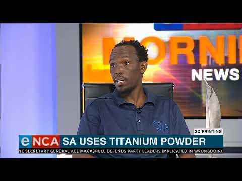 SA Uses Titanium Powder