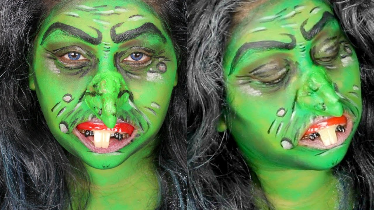 Witch Makeup Without Face Paint