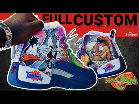 "Custom ""Space Jam"" Retro Jordan 12s"