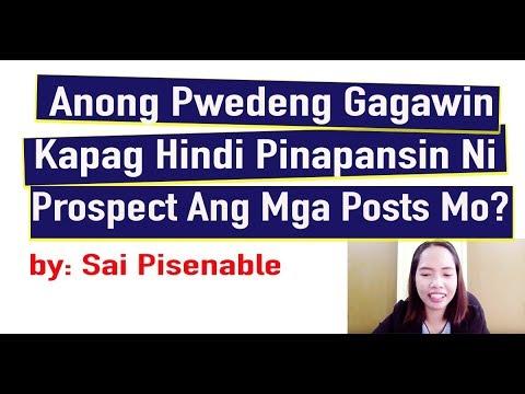 Paano Ang Pwedeng Gawin Para Pansinin Ni Prospect  Ang Posts Mo?