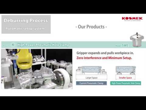 【KOSMEK】Robot Tool Changer / Pallet Setup / Robot Deburring Image : Our Products