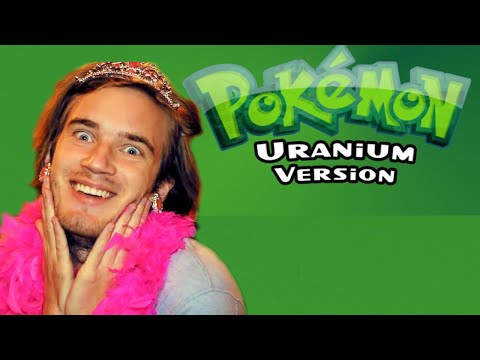 Pewdiepie in Pokemon Uranium   Pokémon Uranium Nuzlocke - Part 1   [Russian Reacts / Russian Plays]