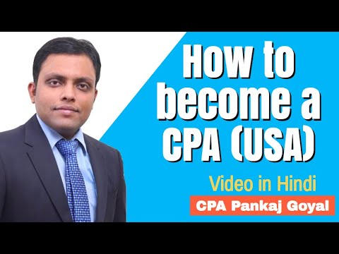 How to become a CPA (USA)- Hindi | BaatCheet Series | CPA Pankaj Goyal