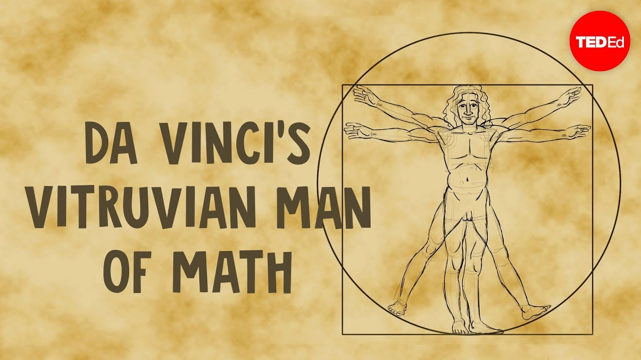 Da Vinci's Vitruvian Man of math - James Earle