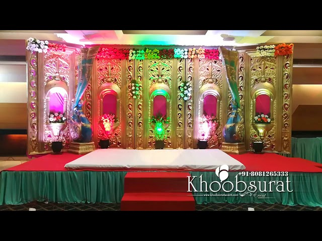 Engagement decor at Piccadily #khoobsurat events